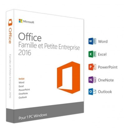 Pack Office 2016 - Version Boite