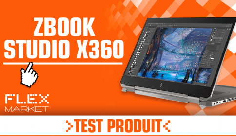Test Produit : Zbook Studio x360