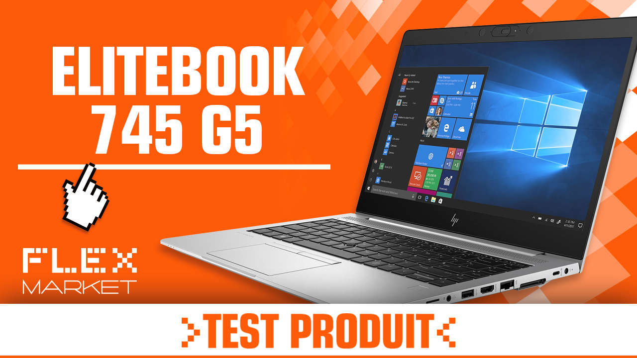 Test produit : Elitebook 745 G5 + Thunderbolt Dock
